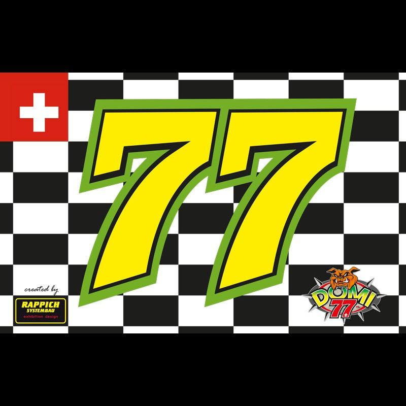 Fahne Domi #77